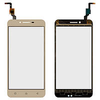 Сенсорный экран для мобильного телефона Lenovo A6020a46 Vibe K5 Plus, золотистый
