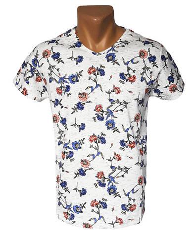 Мужская удобная футболка, фото 2