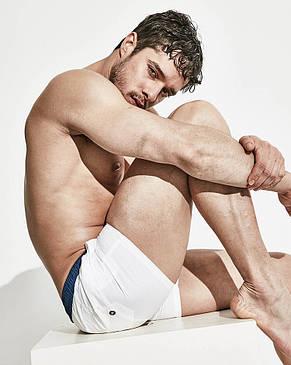 Белые мужские шорты Desmit, фото 2