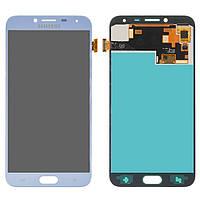 Дисплейный модуль (дисплей и сенсор) для Samsung J400 Galaxy J4 (2018), голубой, (OLED), lavenda