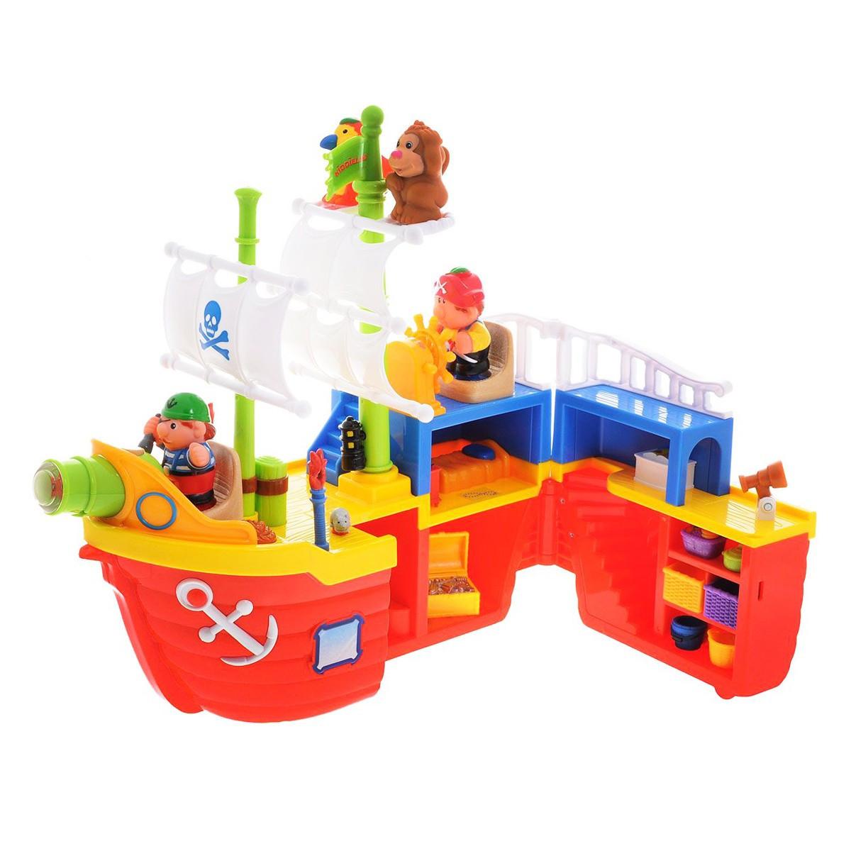 """Ігровий набір """"Піратський корабель"""" 38075/КіддіСвіт"""