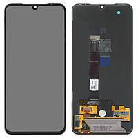 Дисплейный модуль (дисплей и сенсор) для Xiaomi Mi 9, черный, оригинал