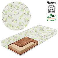 Матрац кокос - поролон - кокос - хлопок - Organic Кпк 18959 - ТМ Беби-Текс - 219280