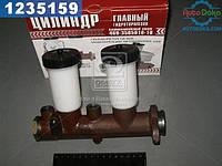 Цилиндр тормозной главный УАЗ 452, 469 старого образца - 2 бачка, без сигнального устройства (производство  г.Ульяновск)  3151-3505010