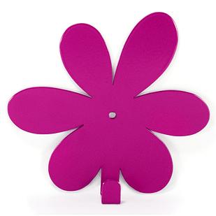 Вешалка настенная Крючок Glozis Flower Purple H-021 13 х 12 см