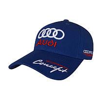 Бейсболка Audi, синій