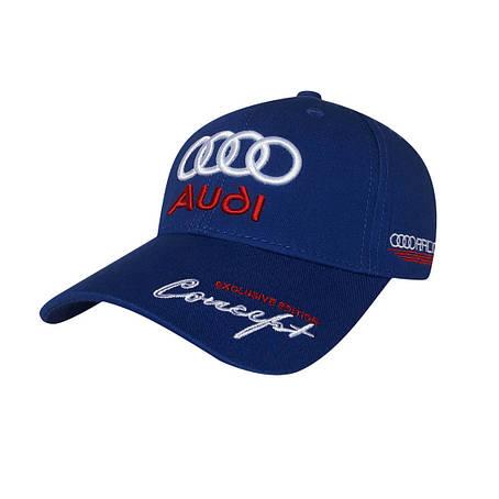 Бейсболка Audi, синий, фото 2