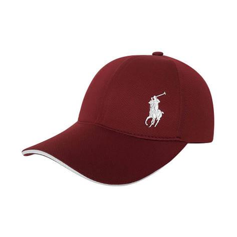 Стильная мужская кепка, красный, фото 2
