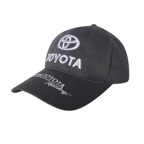 Кепка автомобільна Toyota, сірий, фото 2