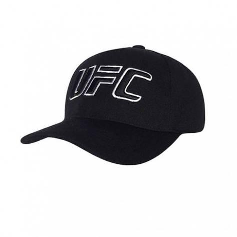 Мужская бейсболка UFC, черный, фото 2