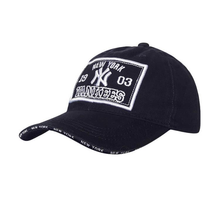 New York Yankees Мужская кепка, черный