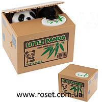 Интерактивная детская копилка Панда-воришка Mischief Bank, фото 1