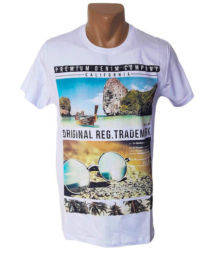 Мужская футболка на пляж Highlander