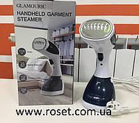 Отпариватель пароочиститель ручной DF-019А 1100Вт Glamouric, паровой утюг, фото 1