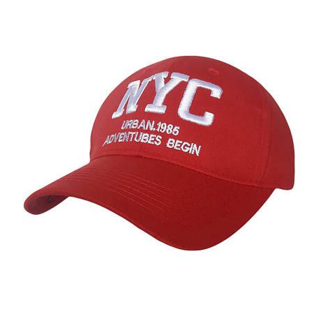Стильная кепка NY, красный, фото 2