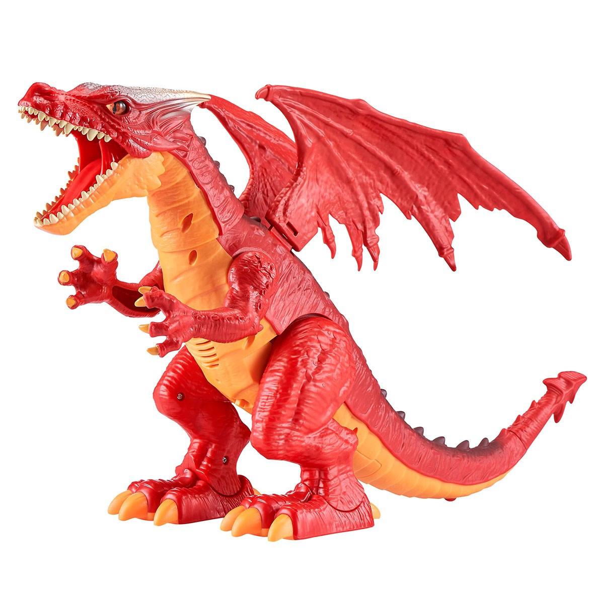 """Інтерактивна іграшка """"Robo Alive - Вогняний дракон"""" 7115R/КіддіСвіт"""