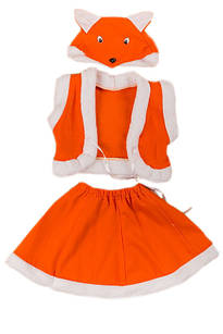 Карнавальный костюм 110-116 см Лисичка (К3603)