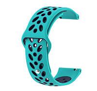 Браслет для часов спортивный Garmin Vivoactive 3 / Vivomove HR / Forerunner 245/645 TAMISTER Мятный