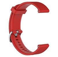 Браслет на часы спортивный Garmin Vivoactive 3 / Vivomove HR / Forerunner 245/645 TAMISTER Корраловый