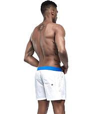 Белые мужские шорты, фото 2