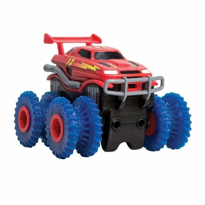 Машинка Trix Trux Monster Truk для канатного детского трека монстр-траки Красная (SUN2218_1)
