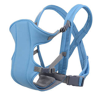 Слинг-рюкзак для ребенка Babby Carriers Голубой (nri-2215)