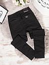 5531-4 Relucky американка батальная черная весенняя стрейчевая (31-38, 6 ед.), фото 3