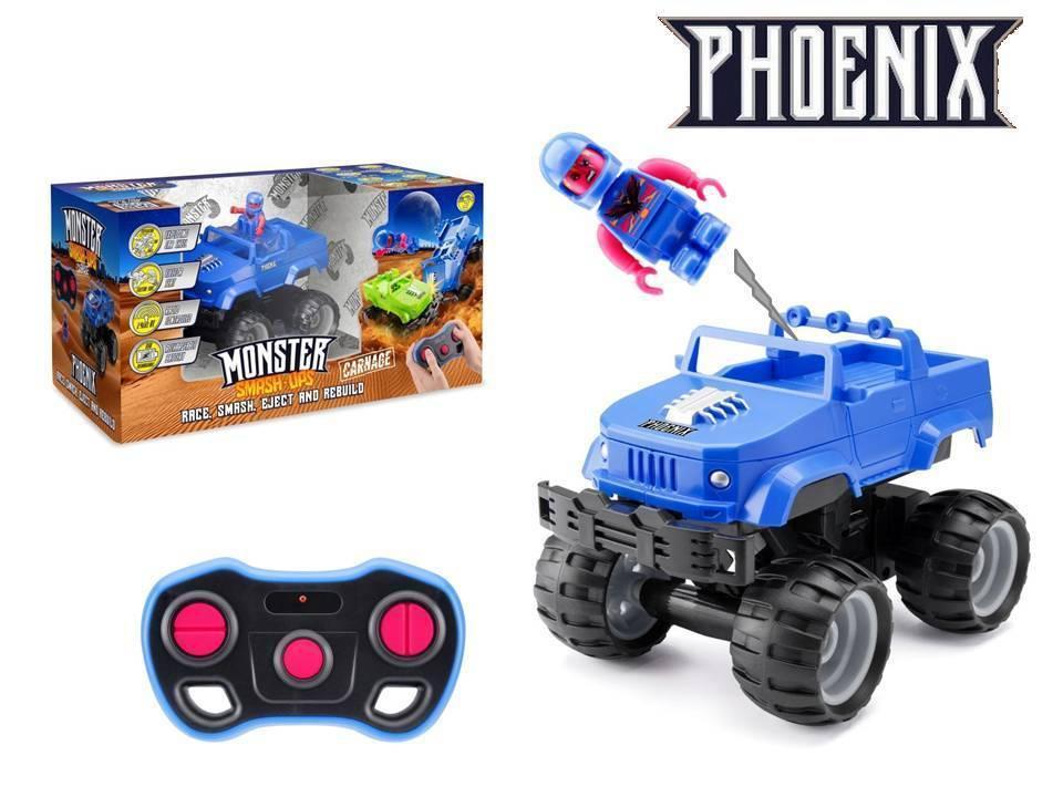 """Машина на керуванні """"Crash  Car S2"""" Фенікс, синій TY6082B/КіддіСвіт"""
