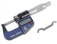 """Микрометр цифровой MPR 0-25 мм / 0-1""""0.001 в водозащищённом металлическом корпусе IP 65"""