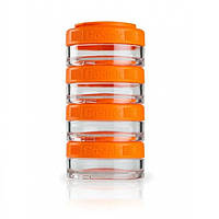 Контейнер спортивный BlenderBottle GoStak 440ml Orange, Original R145189