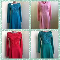 Распродажа!!! Женское/подростковое платье королевское кружево 42,44,46