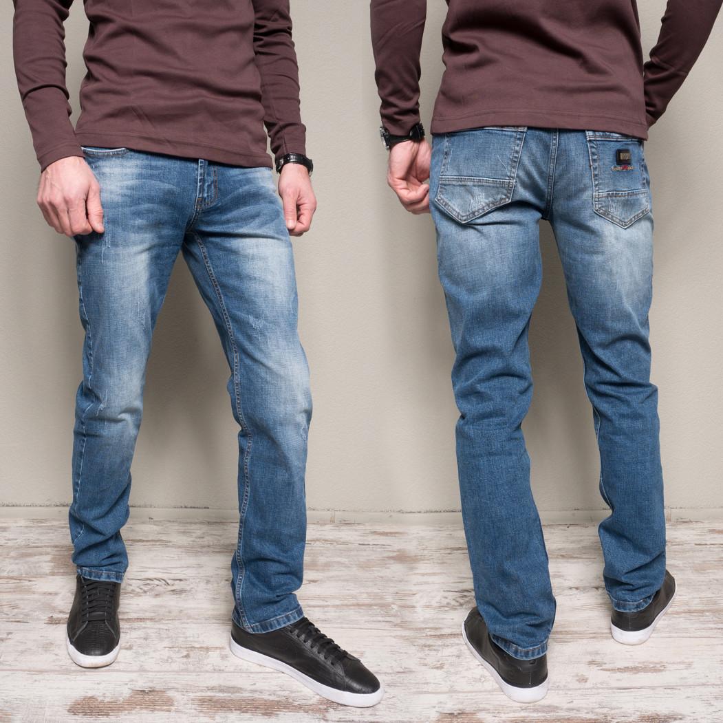 9911-4 R Relucky джинсы мужские с теркой весенние стрейчевые (29-38, 8 ед.)