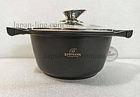 Кастрюля Bohmann BH 150-28 Black  6,3 л