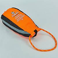 Спасательный нетонущей канат l-27м в водонепроницаемом мешке FOX 40 RESCUE THROW BAG (полипропилен, оранжевый) PZ-7909-0302
