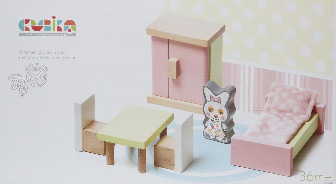Іграшка дерев'яна Меблі 2 №12640