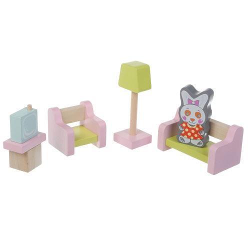 Іграшка дерев'яна Меблі 4 №15030
