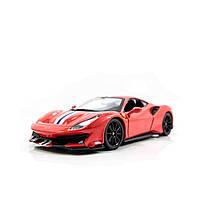 """Автомодель """"Ferrari 488 Pista"""" 18-26026/КіддіСвіт"""