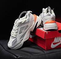 Кроссовки ботинки мужские Nike M2K Tekno Origin White зимние на меху