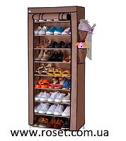 Тканевый шкаф для хранения обуви и аксессуаров Shoe Rack and Wardrobe YQF-1190