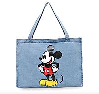 Тканевая сумка Шоппер City-A Микки Маус Mickey Maus