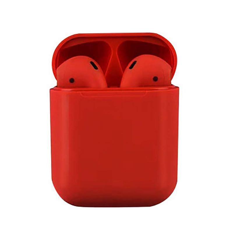 Сенсорные беспроводные Bluetooth наушники i18 TWS Original Red (WH001I18R)