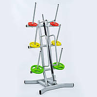 Подставка (стойка) для штанг фитнес памп (металл, cм)LRK-501 PZ-TA-8214