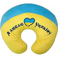 Мягкая игрушка Тигрес Подголовник Я люблю Украину ПД-0122