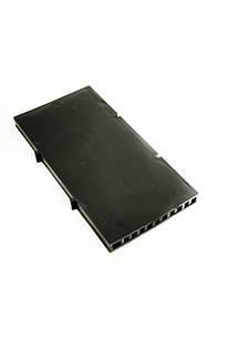 Вентиляционные коробки для фасадов 117 х 60 х 8 мм 10 шт Черный (3004)