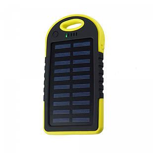 Портативное зарядное устройство Supretto от солнечной батареи 5000 мА Желтый (5098-0002)
