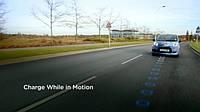 Великобритания протестирует дороги с системой подзарядки электромобилей