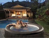 Джакузи бассейн надувной intex 28422 PureSpa на 4 человека