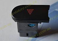 Кнопка включения аварийки аварийной сигнализации Ланос,сенс,Sens Lanos OE 96231858