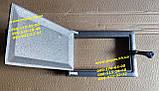 Дверцята пічна піддувальна зольність (160х240мм) барбекю, мангал, грубу, фото 4