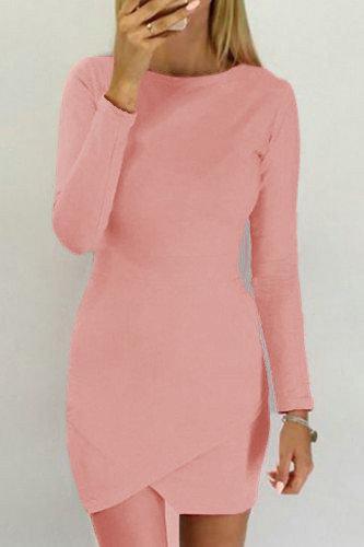 Приталене жіноче плаття персик
